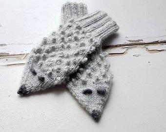 Animals Gloves/ Hedgehogs Mittens/ Kids Gloves/ Knitted Mittens/ Children, Toddler Mittens/ Boy Gloves/ Girl Mittens/ Hedgehogs/Warm Mittens