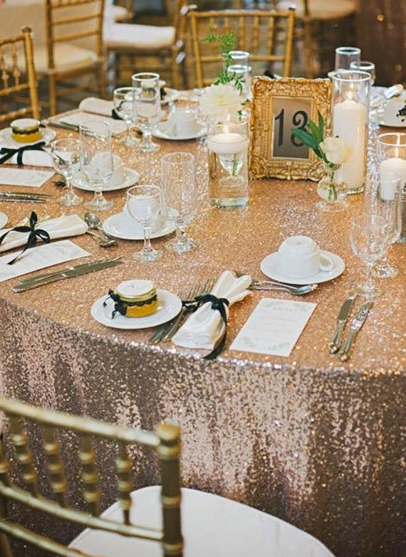 Sequin Tablecloth | Rentals Available | Wedding Decor | Glitz Tablecloth | Great Gatsby Wedding Decor | Wedding Tablecloth | Sparkle Wedding