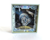 Astronauts | Music Box For Sale | Outer Space | Anime Collectibles | Sankyo Nature Series | Vintage Gift Ideas