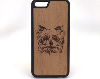 Yorkie/Westie Cell Phone Case