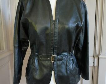 Yves Saint Laurent YSL - jacket/jacket lamb - vintage - size 36/38FR