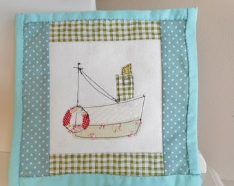 Decorative Pot Holder/Mini Quilt