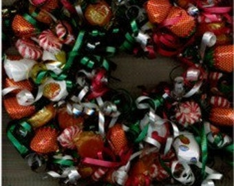 Candy Wreath - Great Gift!