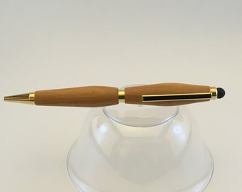 Wood Pen with Stylus Tip #6 - with free shipping