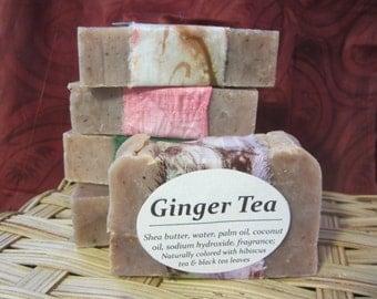 Ginger Tea Handmade Soap- Handmade Soap- Homemade Soap- Tea Soap