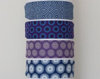 Womens Headband - Fabric Headband - Headband - Fashion Headband - African Headband - African Hair Accessories - Blue Purple Headband
