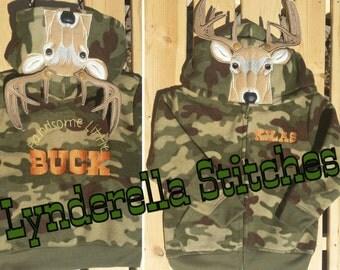 Buck or Doe Hoodie