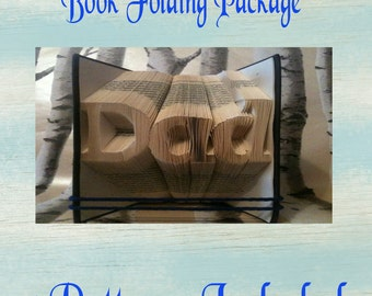Dad Book Folding Package - 5 Patterns Included