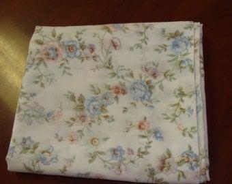 Shabby Chic Pillowcase/Roses/Vintage