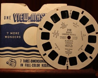 View Master Reel  318 Banff canadian rockies