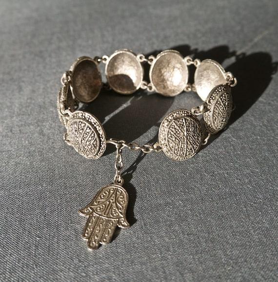 Vintage Hamsa Bracelet Talisman Charm Bracelet