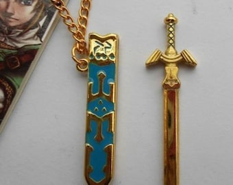 Legend of Zelda Sword necklace. Free shipping to UK