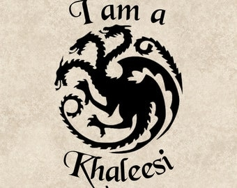 Game Of Thrones Decal Game Of Thrones Sticker Khaleesi Quote Saying Car Sticker Car Graphic Vehicle Laptop Sticker Tablet Phone