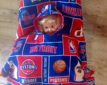 Detroit Pistons Toddler Car Seat Poncho