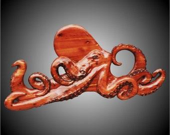 Octopus Version 2 Wall Sculpture
