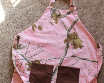 Camouflage Apron for Adult