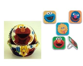 Sesame Street Rings with 12 Sesame Street Baking Cups