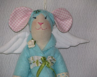 "Bath angel tilde ""Mouse Tiffany"""