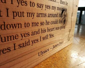 Famous Last Line: James Joyce, Ulysses