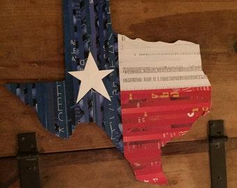 Upcycled Texas Decor