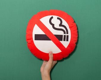 FunPrint No Smoke pillow