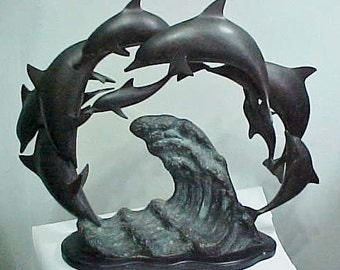 Bronze Sculpture Signed/Stunning Work-Signed 1984 S.F. Artist