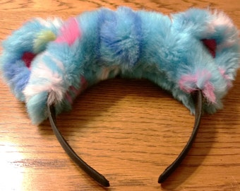 Headband Peace bear -Blue