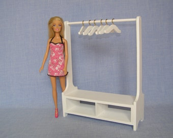 Doll Clothes Rack Etsy