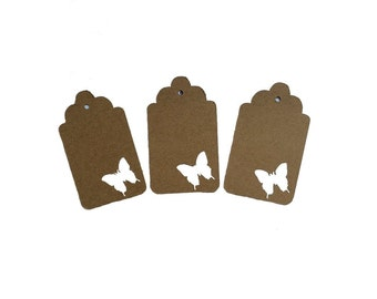 Butterfly 3 Gift Tags