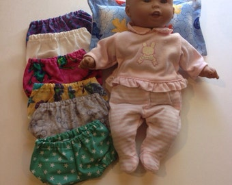 Doll Underpants - Set of six