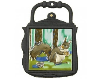 Kettle Trivet Forest Squirrel