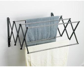 Lindham Spacesaver Telescopic Extendable Towel Rack