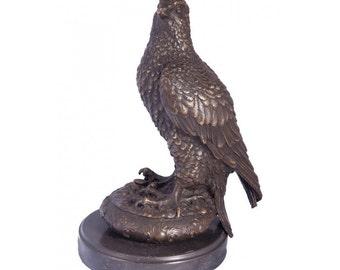 Greenvale Treetops Falcon Bronze Sculpture