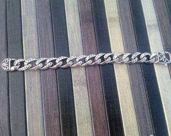 Flat chain bracelet Templar