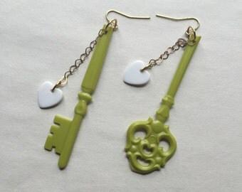 Key to my Heart (green)