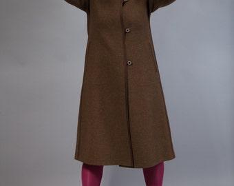 Hoodwinked-vintage coat wool