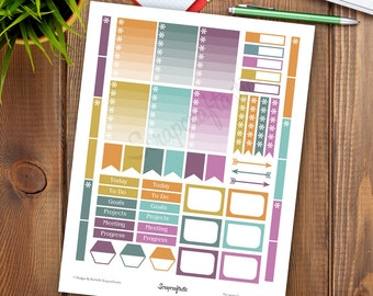 Fall Soft Printable Planner Stickers for the Classic Mambi Happy Planner