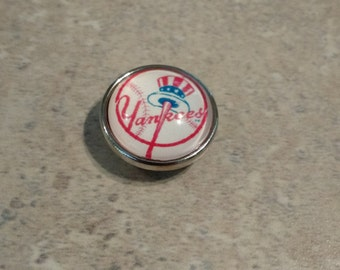 New York Yankees Snap Button