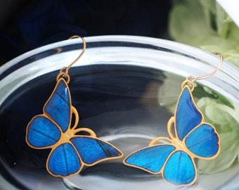 Antique Morpho Earring M