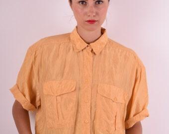Vintage Silk Shirt (514)