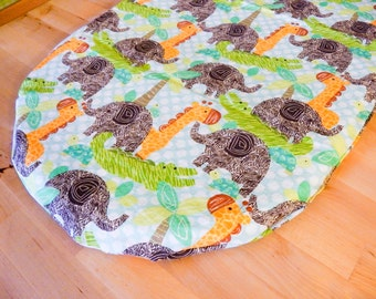 Jungle Bassinet Sheet