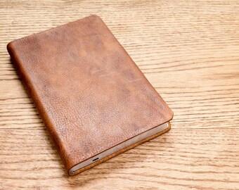 Full Grain Cowhide Leather Bible, NKJV Ultraslim