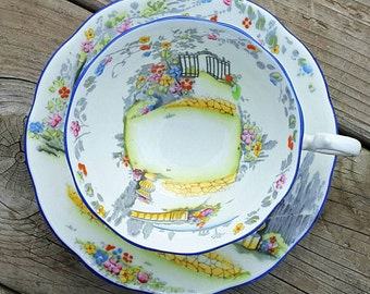 Royal Albert Rosedale Teacup and Saucer