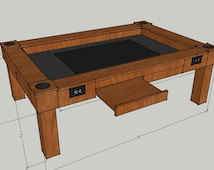 DnD Game Table with 40in screen (included)