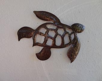 Sea Turtle   -  Wall Art  -     Home Decor -  Metal Wall Hanging