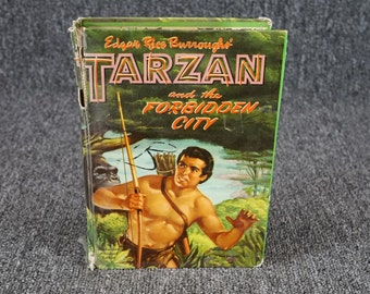 Tarzan And The Forbidden City By Edgar Rice Burroughs 1938