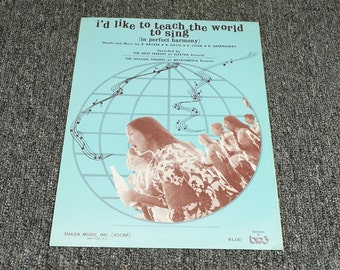 I'd Like To Teach The World To Sing (In Perfect Harmony) C. 1971