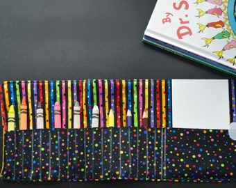 Crayon Rollup with Notepad
