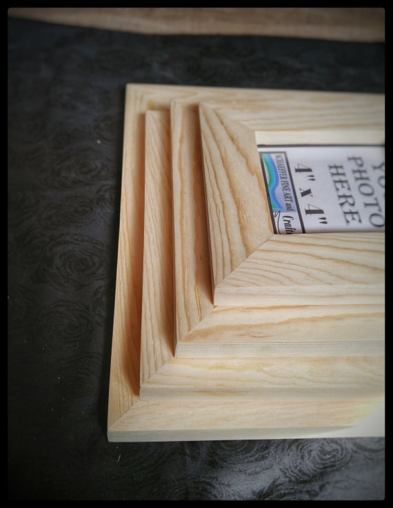 8x10 frames no hardware or glass wood for frames blank for Unfinished wood frames for crafts