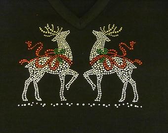 Christmas Raindeer Pair